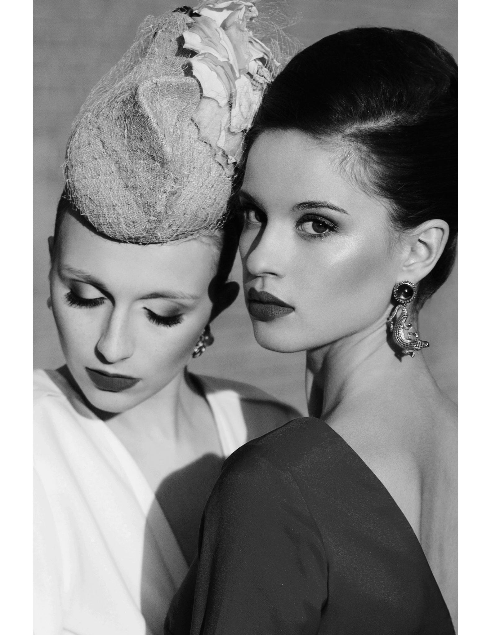 fot.: Edyta Bartkiewicz, stylista: Dorota Frydecka, hair: Patryk Nadolny, make-up: Anna Borek, modelki: Sandra i Kasia G. z Neva Models