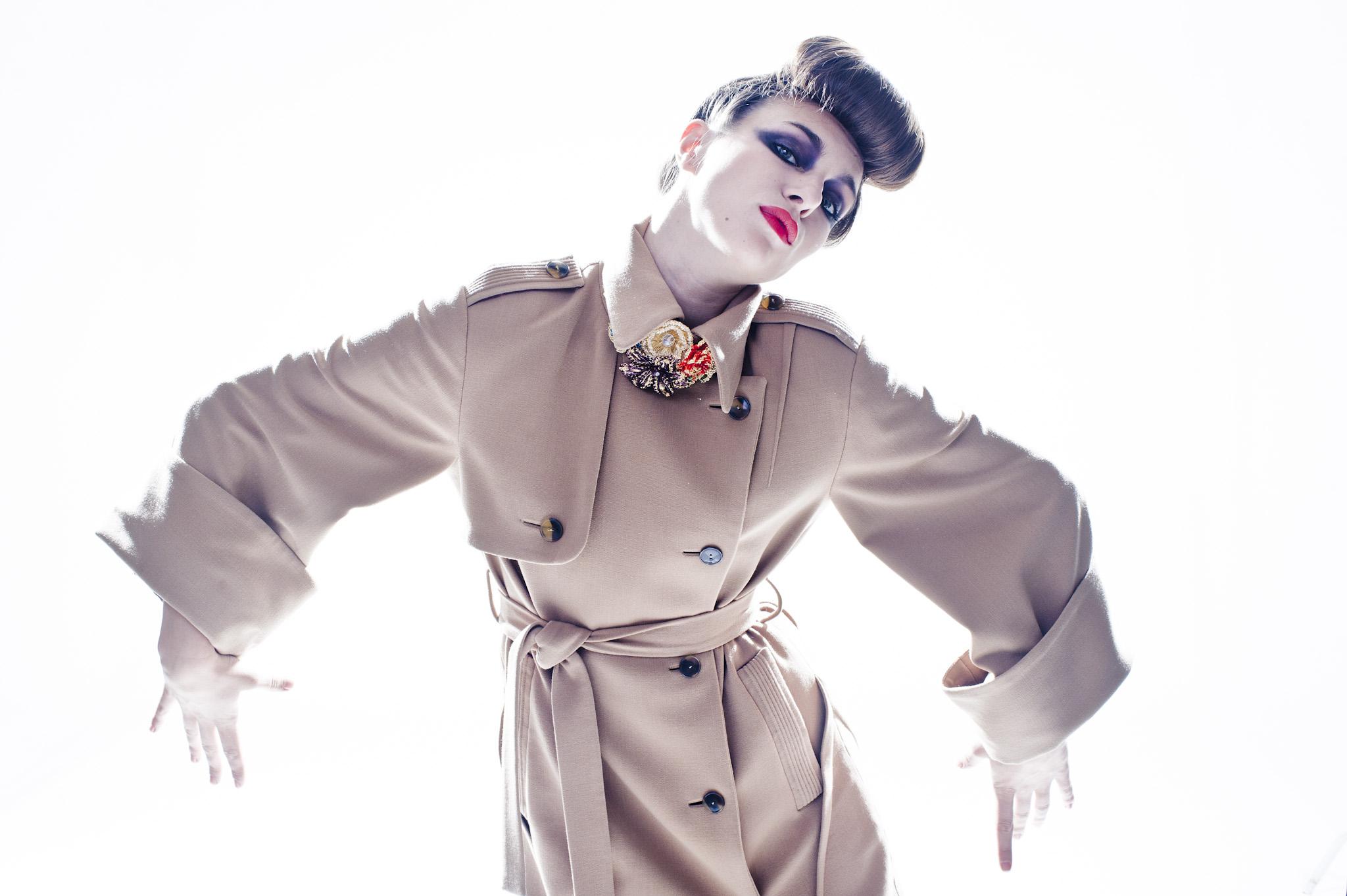 dla: Malemen, fot.: Jacek Poremba, stylizacja/makijaż: Robert Bielski, modelka: Anna Czartoryska