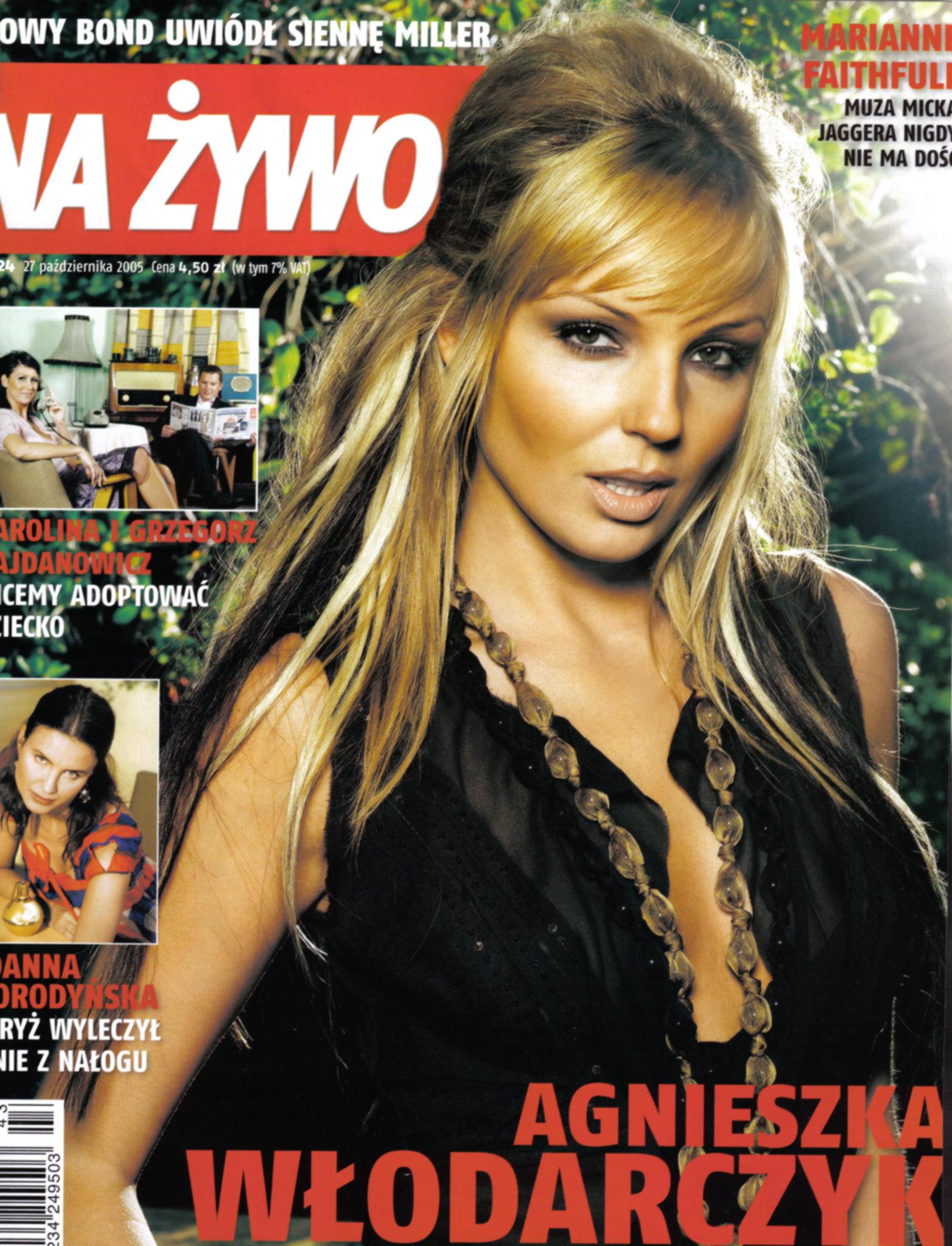Agnieszka Włodarczyk w obiektywie Adama Wlazłego